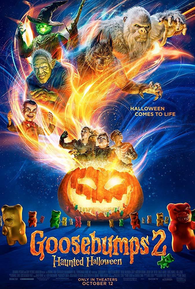 Movie Poster: Goosebumps 2: Haunted Halloween